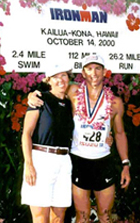 Kim and Jeff Kona 2000